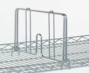 wire shelving dividers
