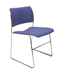 40/4 Stacking Chairs Upholstered