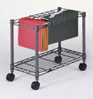 wire file cart