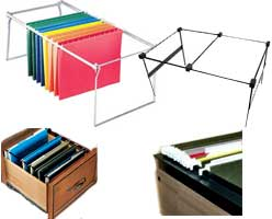 Hanging File Folder Frames