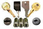 File Cabinet Accessories - File Keys - Lock Cores