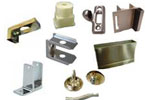Restroom Hardware - Toilet Partition Latches